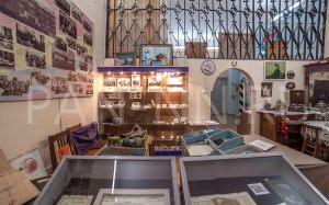 Интерьерное фото зала Музея истории города Заозерный