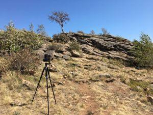 Вершина горы Семь печатей. Съемка виртуального тура по заповеднику Аркаим