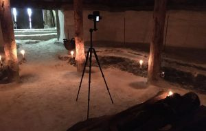 Фамильная усыпальница. Курган Темир. Съемка виртуального тура по заповеднику Аркаим